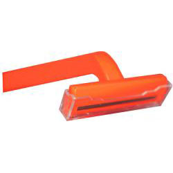 700917 - Single Blade Razor (orange handle)