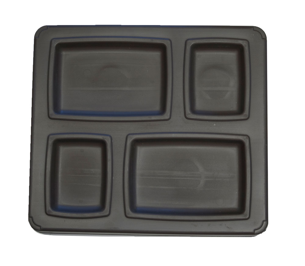 Guardian 4 Compartment Insulated Trays 4000