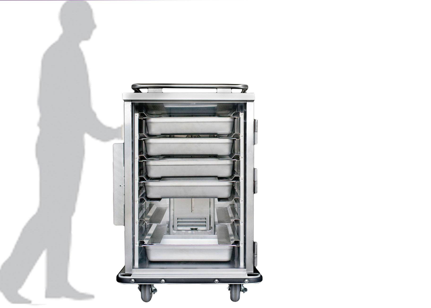 JonesZylon Company Corrections Products Bulk Food Holding Cabinets - Hot food holding cabinet