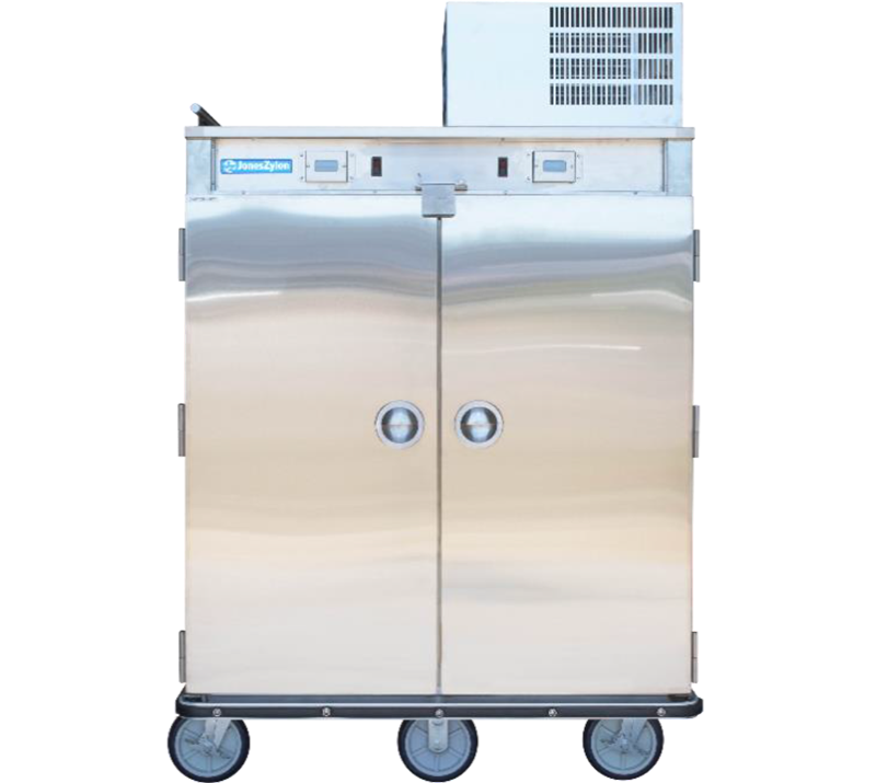 Jones Zylon JZHR 20 HC Heated Refridgerated Cart meal delivery
