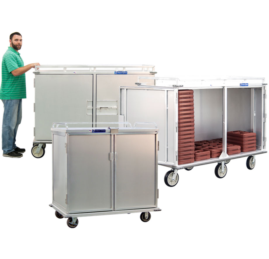 JonesZylon Enclosed Transport Carts