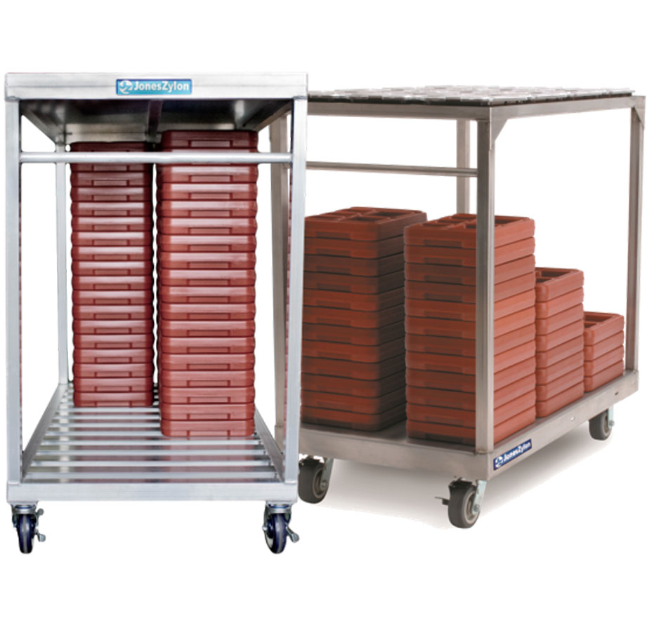 JonesZylon Open Transport Carts Racks